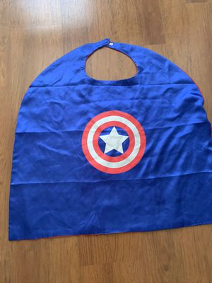 Captain America cape - Kids for Sale in FL, US