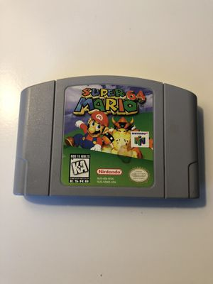 Nintendo 64 super Mario 64 for Sale in San Diego, CA