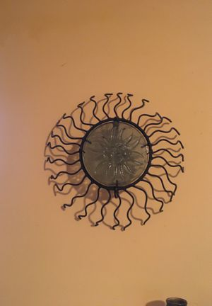 Wall fixture iron and glasss for Sale in Pasadena, CA