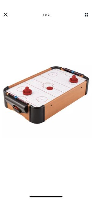 New & Fun Mini Tabletop Air Hockey Game Table Set - Hot Indoor Sports Game for Sale in Los Angeles, CA
