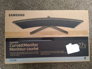 Samsung CF398 curved 27in monitor for Sale in South San Francisco, CA