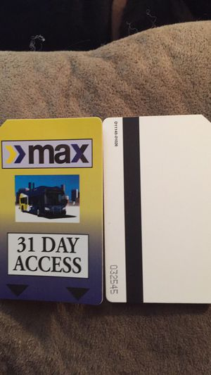 Max Bus Passes for sell for Sale in Birmingham, AL