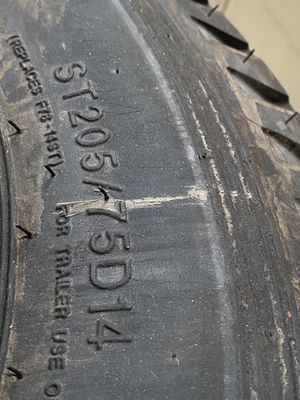 4 Brand new trailer tires with rims for Sale in Baltimore, MD