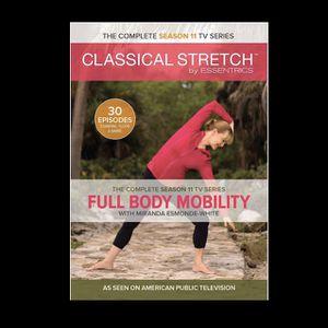Classical Stretch Season 11 Miranda Esmonde Technique (DVD, 2016, 4-Disc Set) for Sale in Parkville, MO