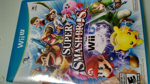 Supper smash Wii u game $30 for Sale in Plano, TX