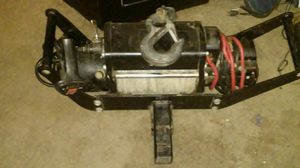 12Volt Winch--60 ft. Lead w/Slide Hitch Mount & Remote Control for Sale in Hesperia, CA