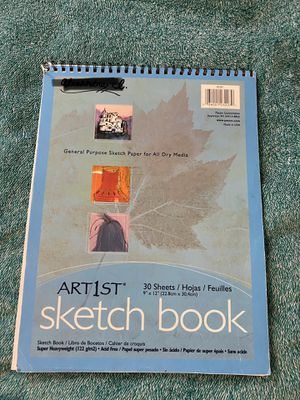 Artist Sketch Book 30 Sheets for Sale in Ithaca, NY
