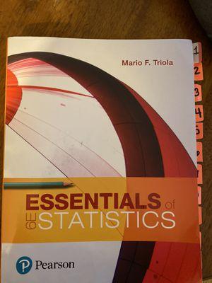 Statistics textbook for Sale in Claremont, CA