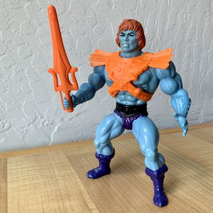 Vintage Heman Masters of the Universe Faker Complete with Sticker Action Figure MOTU Toy for Sale in Elizabethtown, PA