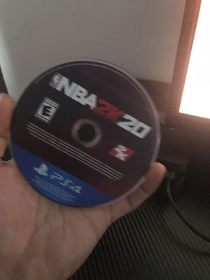 2k20 ps4 for Sale in Bedford Park, IL