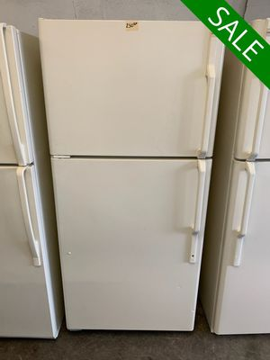 📢📢Hot Point Refrigerator Fridge Works Perfect Beige #1343📢📢 for Sale in Lutherville-Timonium, MD
