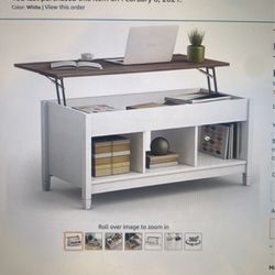 coffee table with storage for Sale in Los Angeles,  CA