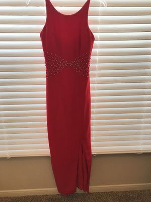 Stunning Red Homecoming/Prom Custommade dress for Sale in Sugar Land, TX
