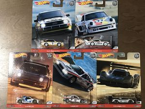 Hot Wheels Car Culture Thrill Climbers set for Sale in West Covina, CA