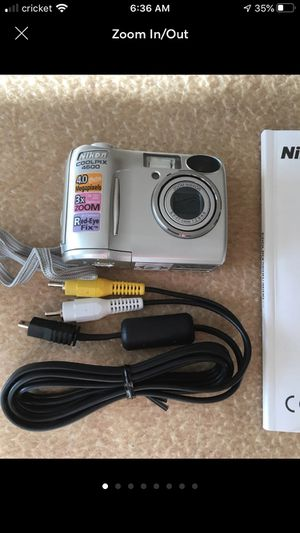 Nikon Coolpix 4600 Digital Camera for Sale in Guilford, CT