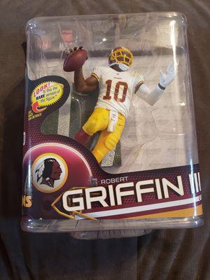 Robert griffin lll RG3 Washington Redskins McFarlane action figure NFL for Sale in Brandon, FL
