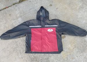 Tampa bay Buccaneers jacket hoodie $20 (good condition) (size L) for Sale in Houston, TX