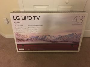 LG UHD smart tv 43 inch brand new web os smart tv for Sale in Apollo Beach, FL