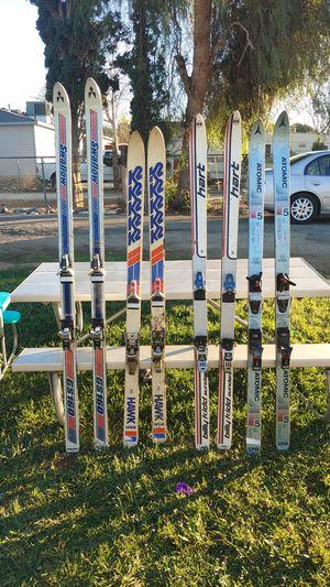 Swallow,atomic,Billy kidd hart, KR hawk ski's for Sale in Corona, CA