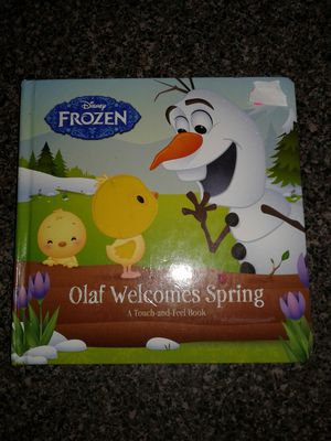 Olaf Touch And Feel Board Book for Sale in Murfreesboro, TN