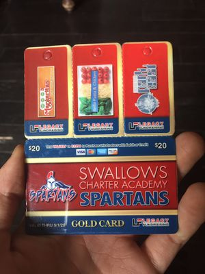 Gold card for Sale in Boone, CO
