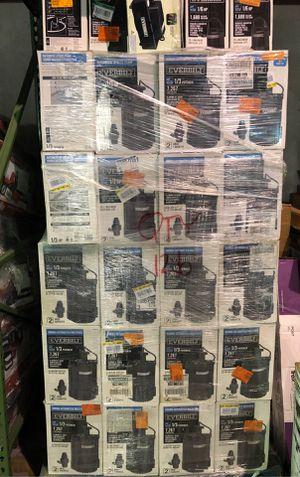Everbilt 1/3hp Water Pumps Pallets for Sale in Doral, FL