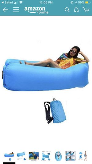 Inflatable blow up beach bed ! for Sale in San Antonio, TX