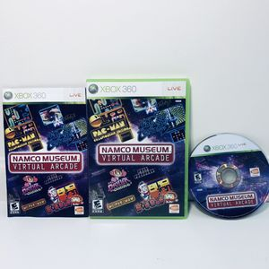 Xbox 360 Video Game Namco Museum Virtual Arcade Complete for Sale in Fuquay-Varina, NC