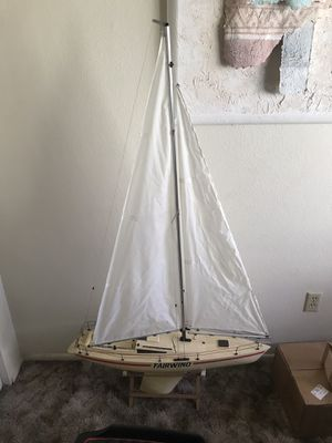 Rc sailboat for Sale in Huntington Beach, CA