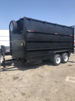 8x12x6 GODZILLA DUMP TRAILER for Sale in Queen Creek, AZ