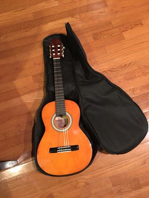 Valencia 1/2 Acoustic Guitar and Case for Sale in Ashburn, VA