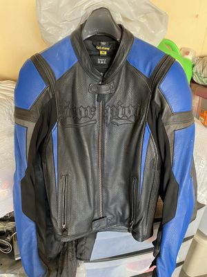 Scorpion Men's Leather Motorcycle Jacket - Size M for Sale in West Covina, CA