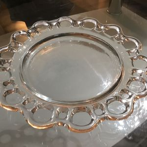 Lace Glass Plates (4) for Sale in West Palm Beach, FL