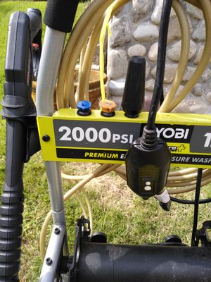 Ryobi electric power washer 2000 psi for Sale in Wheaton, MD