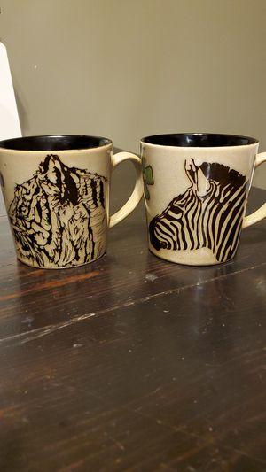 Set of Safari Jungle Coffee Cups for Sale in Joliet, IL