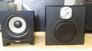 Energy ESW C8 subwoofer and Energy Encore 8 inch subwoofer for Sale in Benicia, CA