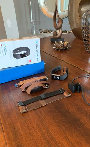 Fitbit Charge 2 with multiple bands for Sale in Lewis Center, OH
