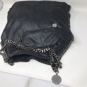 Stella Mccartney Falabella Fold-Over Tote Bag, Black, Women's for Sale in Houston, TX