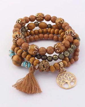 Bohemia Style Handmade Natural Stone Beads Bracelet for Sale in Atlanta, GA