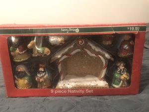 9 piece nativity set for Sale in Santee, CA