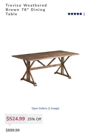 Brand new in box farm style dining table for Sale in Phillips Ranch, CA