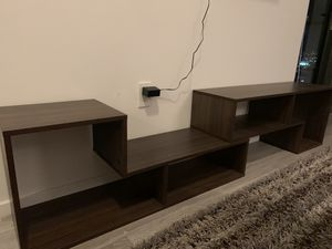 Stylish TV stand or Book bookshelf for Sale in Miami, FL
