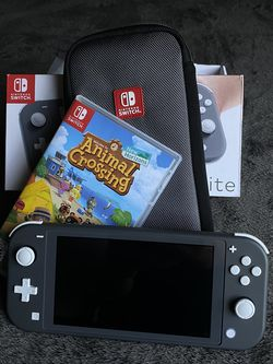 Nintendo Switch Lite Gray 128GB for Sale in Castaic,  CA