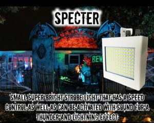 Specter: Use this super bright strobe light on your haunted house, to mimic slow motion with it's adjustable speed for Sale in Lincoln Acres, CA
