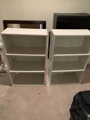 White shelves IKEA for Sale in Dallas, TX