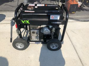 VOX VXG6500W Honda Powered Generator for Sale in Beaufort, SC