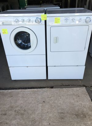 Front load washer dryer one year warranty free delivery within 20 miles for Sale in Durham, NC
