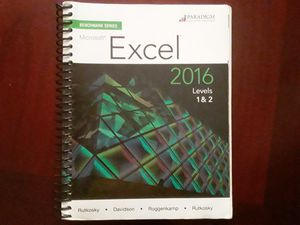 Excel textbook for Sale in Cypress, CA