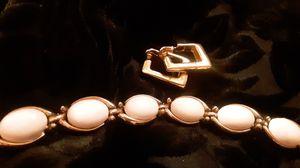 Vintage TRIFARI Gold toned bracelet & earrings for Sale in Lakewood, WA