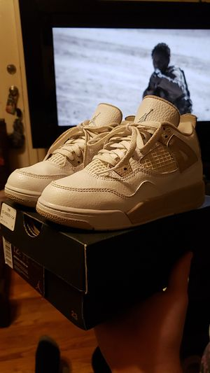 Nike Air Jordan Samd 4s 4 size 12 c supreme bape off white for Sale in Pleasant View, TN